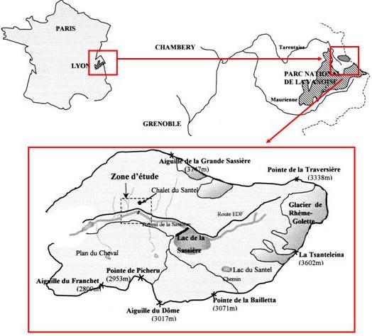 location géographique